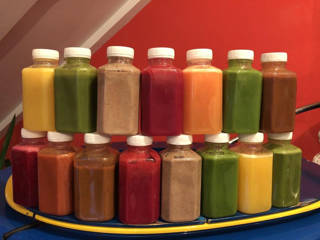 Hrana za mrsavljenje cedjeno sokovi